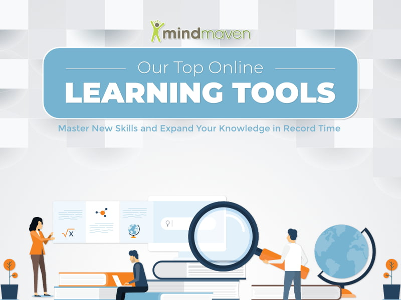 Online Learning Tools Featured Image on White Background